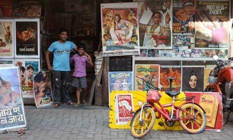 Chor Bazaar. Mumbai, India.