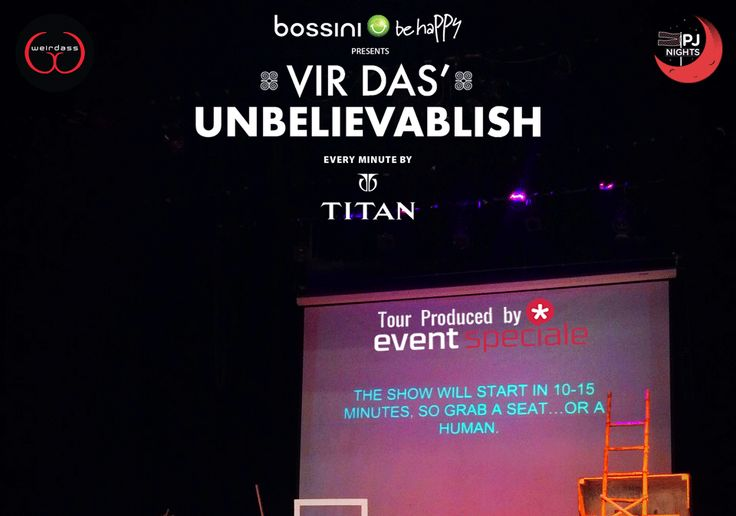 and.. we're set!!.. Time to roll :D #UnbelievableTour #Set #virdas