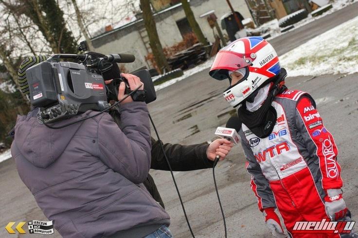 Jan Antoszewski during an interview with PolishTV