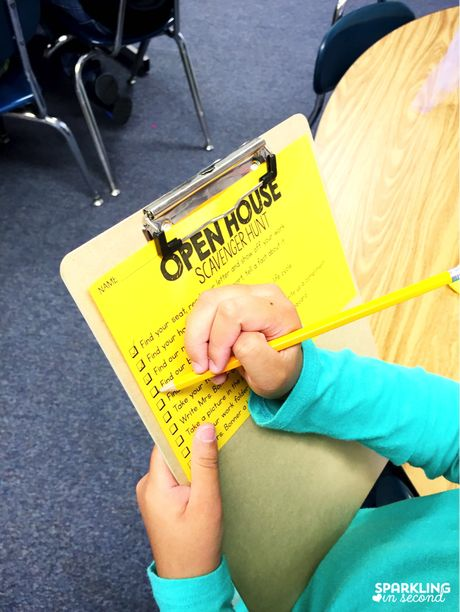 Simple and FREE ideas for your school's Open House! Love the free scavenger hunt idea.