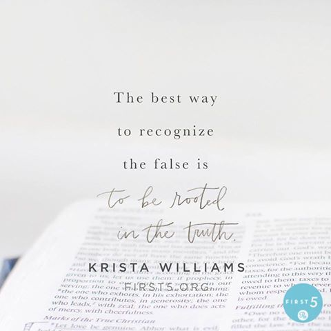 The battle for our heart begins in our minds. Our minds are incredibly powerful. What we think … determines what we believe … who we are … and what we do and say. Therefore, we must guard and renew our minds so that we are not easily deceived. - Krista Williams #First5