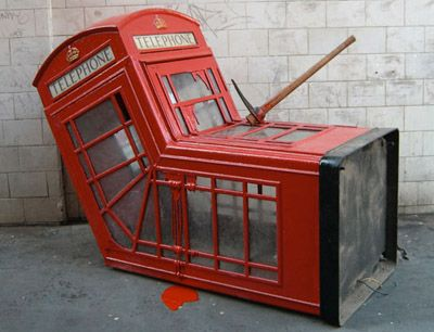 Banksy - UK graffiti artist