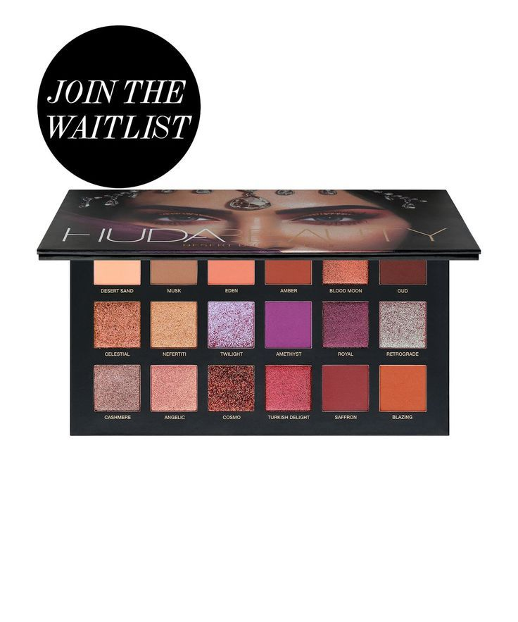 Huda Beauty | Desert Dusk Palette | Cult Beauty  This beautiful eyeshadow palette from HUDA features 18 shades - including wearable nudes, stunning metallics and shimmering glitters. #affiliate