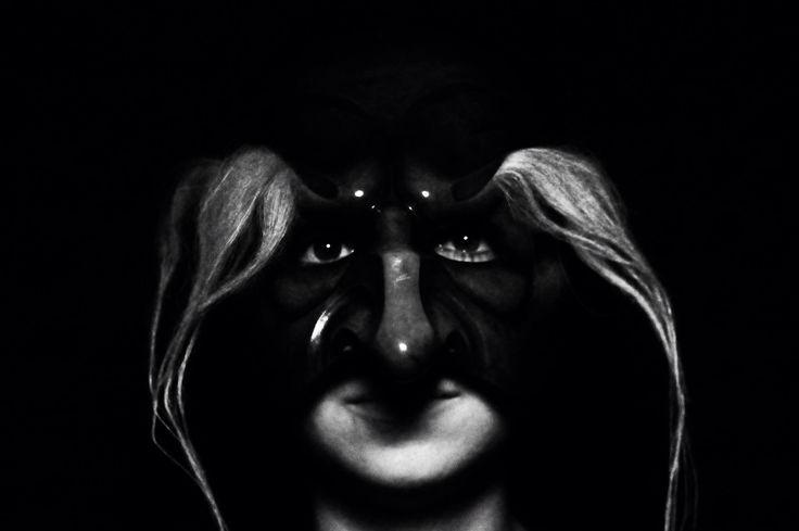 """Lavinia Anselmi, Pantalone, da """"La Zannata"""" , primo studio di Commedia Dell'Arte, di Flavio Albanese #actress #commediadellarte #theatre #mask"""