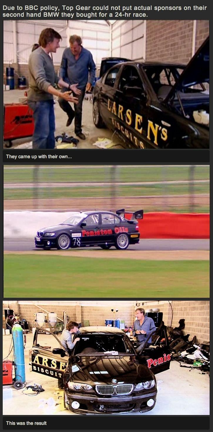Why I Love Top Gear...
