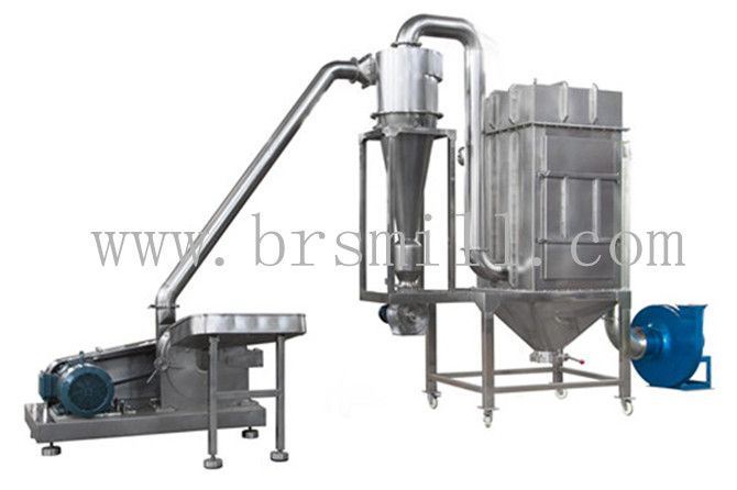 Bsg Cyclone Dust Collecting Grinding Unit It Is Widely Used In Fields Of Foodstuff Chemical Paint Medici With Images Salt Grinder Grinding Machine Rice Flour