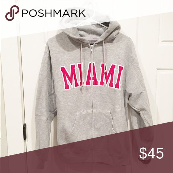 Miami University Sweatshirt Miami University Sweatshirt, like new, worn once. Official collegiate wear from campus bookstore. Jansport Tops Sweatshirts & Hoodies