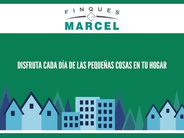 ¡Disfruta y valora cada día las pequeñas cosas! :)  🚩 + info: finquesmarcel@finquesmarcel.com  | ☎ 93 8791767 - 93 8793109 | www.finquesmarcel.com
