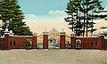 Class of 1903 gates at Bowdoin College Brunswick ME