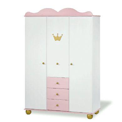 Pinolino Kleiderschrank Prinzessin Karolin 3 Turig Furniture