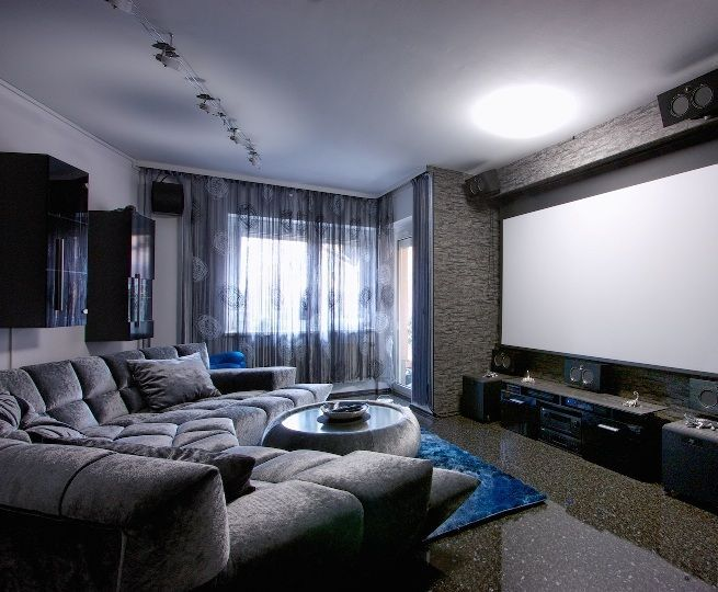 Designing A Basement Home Theatre Living Room Theaters Small
