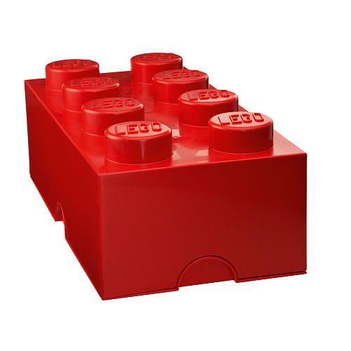 "LEGO Storage Brick 8 - Red - Room Copenhagen - Toys ""R"" Us"