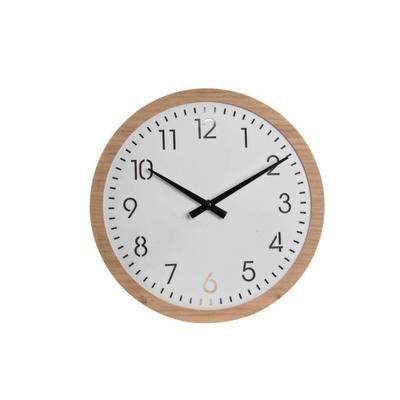 ITEM Horloge Bois LED - 30x4,5x3 cm - Achat / Vente horloge - pendule Bois - Cdiscount