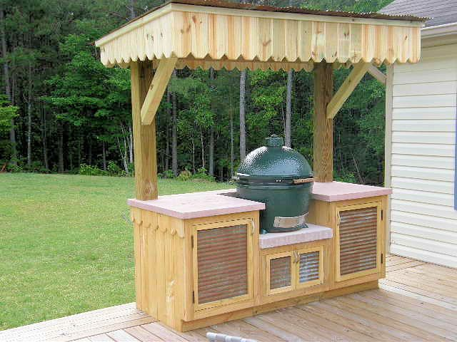 26 Best Images About Kamado Grill Tables On Pinterest