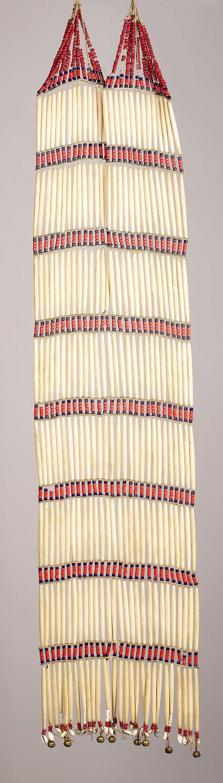 A SIOUX WOMAN'S BREASTPLATE. c. 1900. ... American Indian   Lot #77248   Heritage Auctions