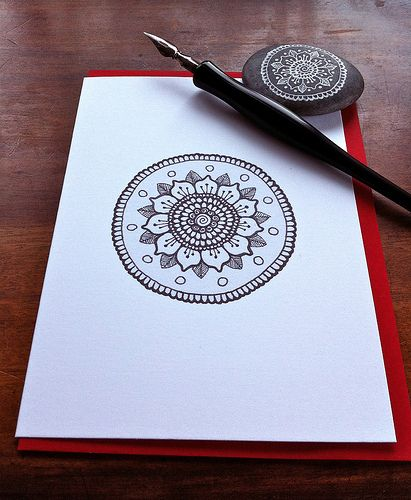 mandala card | Flickr - Photo Sharing!