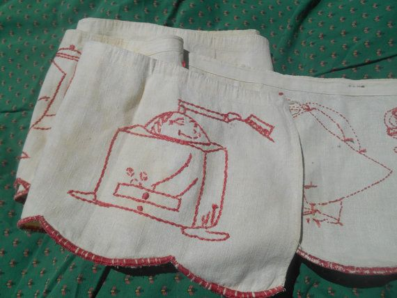 Victorian Valance French Country Kitchen Café by SophieLadyDeParis