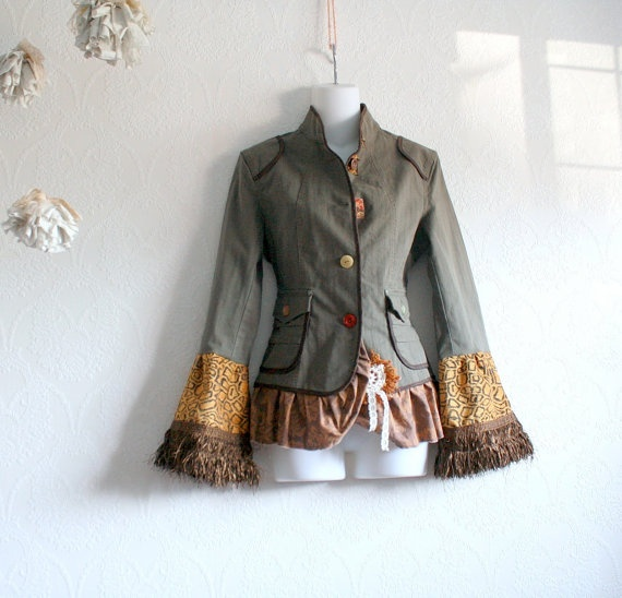 upcycle jacket!