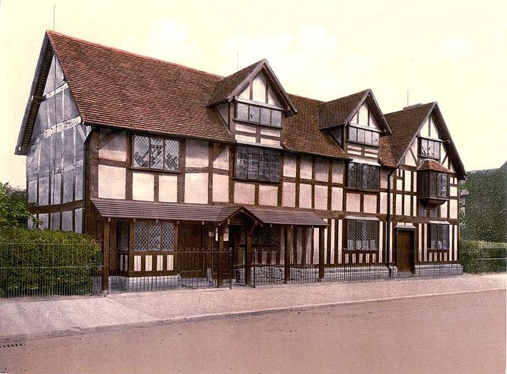 Shakespear's birthplace.  Stratford-on-Avon, England