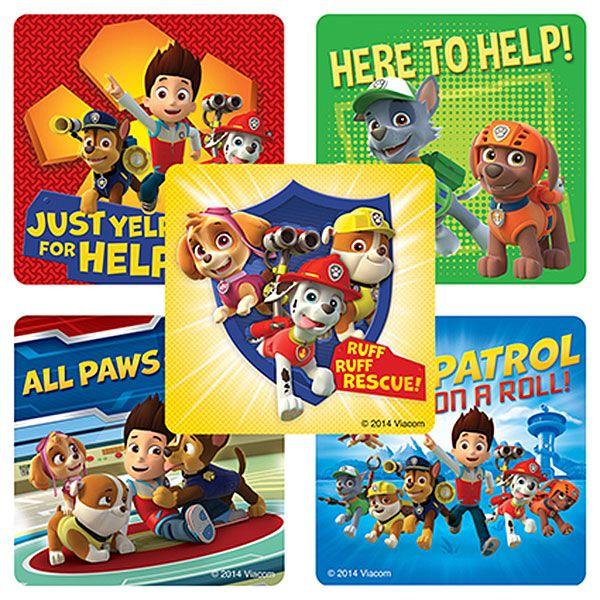Paw Patrol Value Stickers (5)