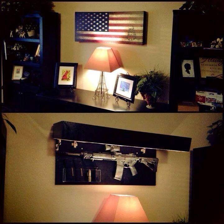 flag bedrooms pinterest hidden gun awesome and hidden gun safe