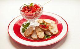 Como fazer bruschetta de tomate: Rita Lobo ensina a receita.