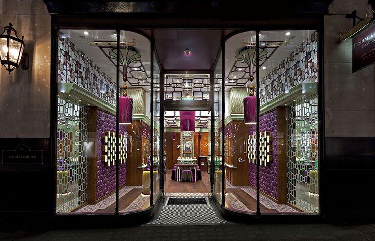 Penhaligon's, Regent Street. Redesigned by Christopher Jenner.