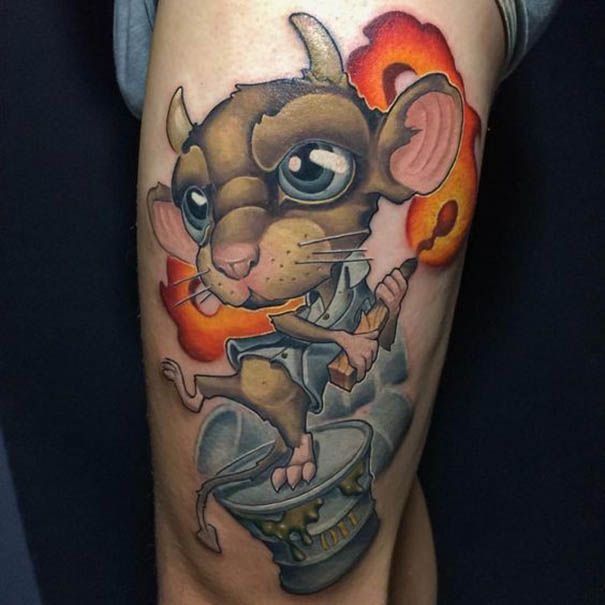 New Tattoo Design: 17 Best Images About New School Tattoo Ideas 2017 On