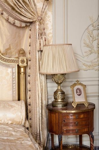 Musée Jacquemart-André. Chambre de Madame, Pam  I toured in Paris..inspired my beige  more beige re-decoratin  my french table