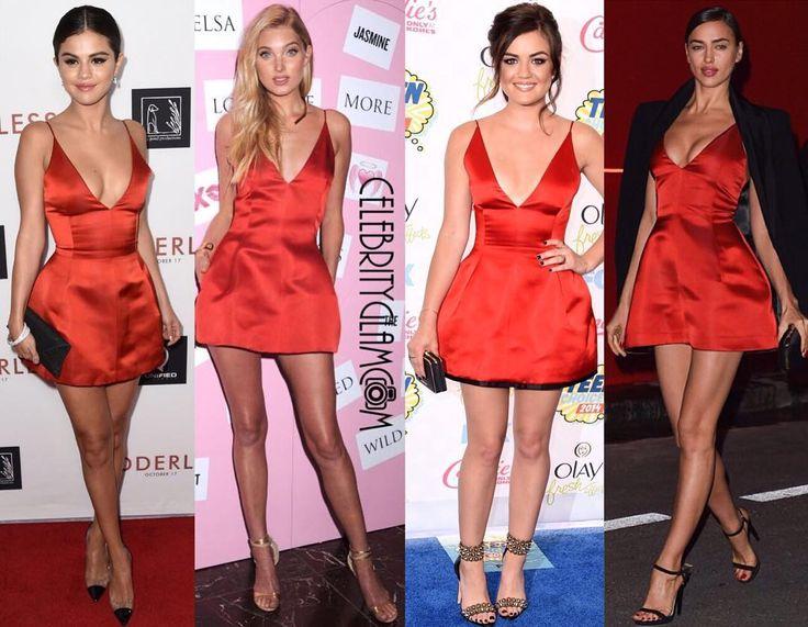 Selena Gomez, Elsa Hosk, Lucy Hale and Irina Shayk have all worn this Dior dress