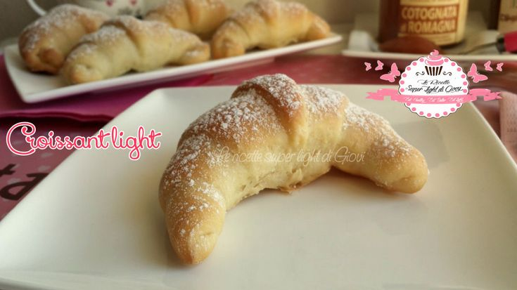 Croissant light - senza grassi (129 calorie l'uno)