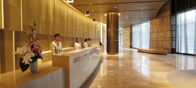 Nikko saigon 5 star luxury hotel lobby hotel nikko for Design hotel vietnam