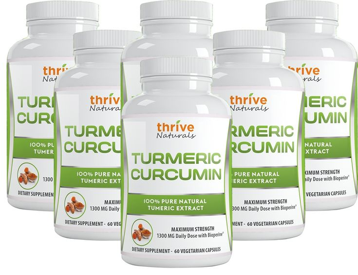 This company'sTurmeric Curcumin Supplementwas awarded our 2018 Editor's Choice Award of distinction for several important reasons. Let's review why it ranked #1 on our list. Why Thrive Naturals Turmeric Curcumin is our #1 Pick Key Features & Benefits: Maximum Strength and highly potent daily dose of1,300 mg. Turmeric Extract With Standardized 95%Curcuminoids Contains Biperine® to ...