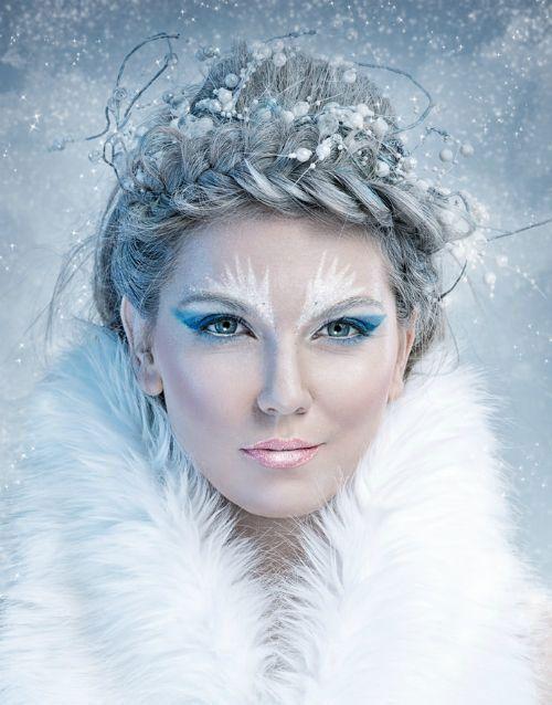 #Make-up 2018 15 Winter Schnee & Eiskönigin Make Up Looks, Ideas & Trends 2018