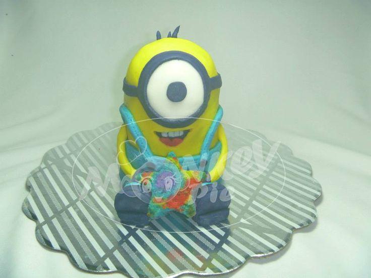 Torta Minion (Mi Villano Favorito) *Escultura en torta*