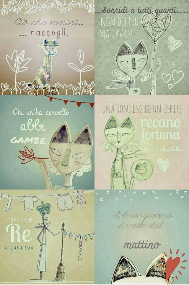 Proverbi illustrati - Cecilia Cavallini ArtCraft