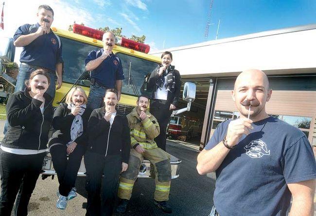 Stratford and Tavistock Fire Department with Rheo girls!