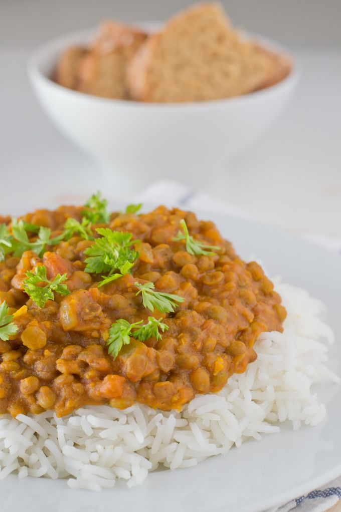 Lentil Curry | minimaleats.com #vegan #recipe #minimaleats #glutenfree
