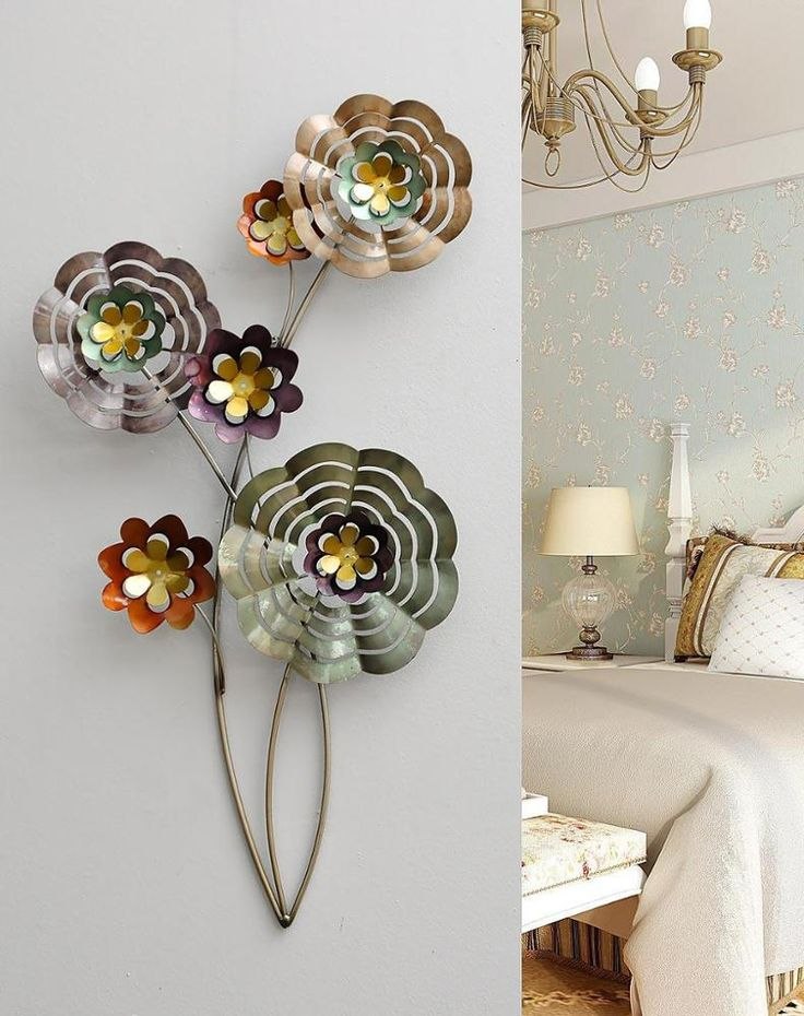Metal Wall Art Iron Flower Home Decoration Wall Hanging, View Metal Wall Art, Anlunob Product Details from Wuhan Anlunob Home Decor Co., Ltd. on Alibaba.com