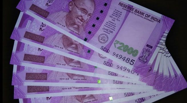 In one of the biggest seizures of new currency, the Income Tax department on Thursday confiscated over Rs 4 crore in searches against