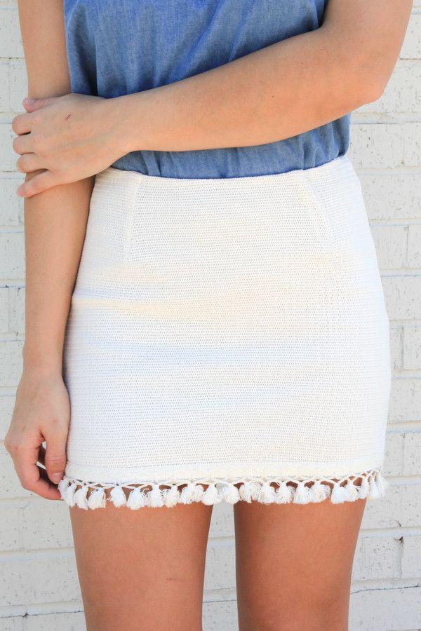 Sundown Tassel Skirt