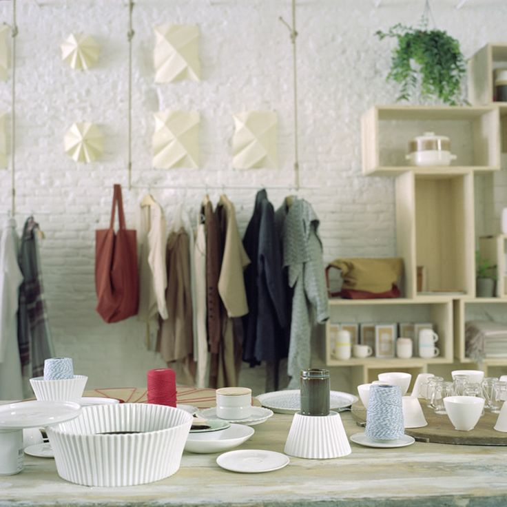 Madrid design hub gets it spot on with calming aesthetic and passionate concept... http://www.we-heart.com/2014/10/21/do-concept-store-las-salesas-madrid/