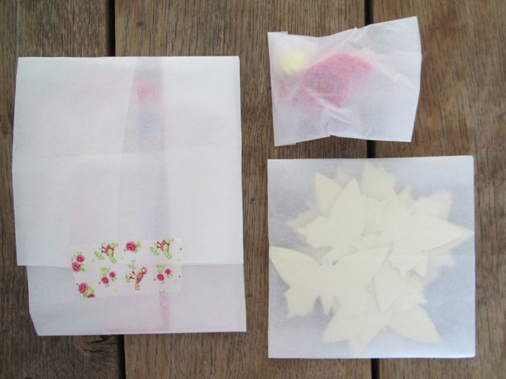 Mail on Monday, packed for postcrossing, translucent paper // VAN BRITT