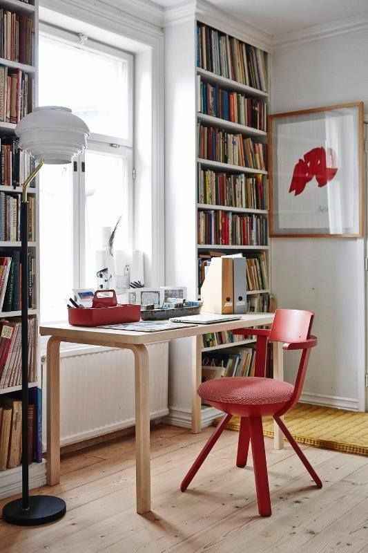 Cool Rival chair by Konstantin Grcic A floor lamp and Table A by Alvar Aalto from