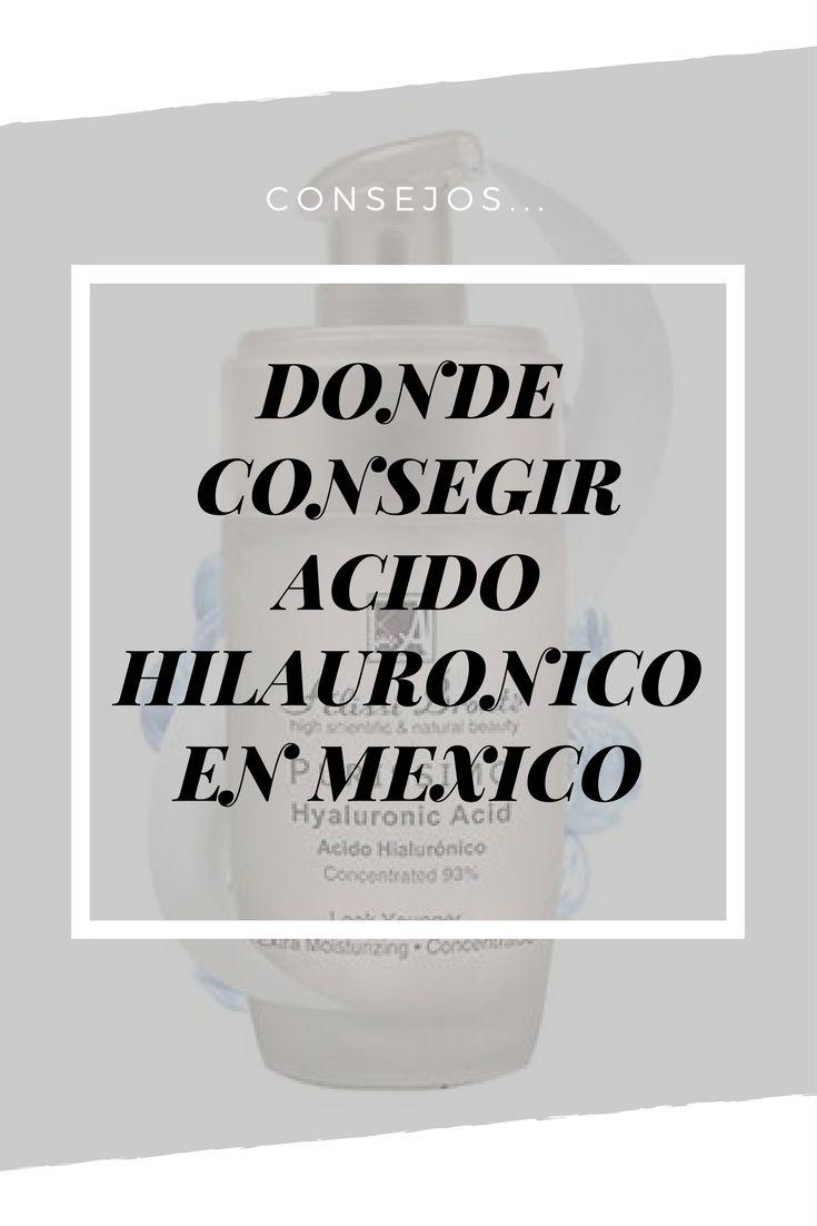 Donde Conseguir el Acido Hialuronico 100% Natural Concentrado de Mejor Calidad garantia de Entrega en Mexico