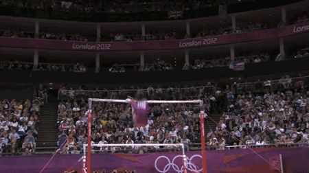 <b>Gabby is the first American gymnast to win both team and individual all-around gold at the Olympics.</b> See how she did it.