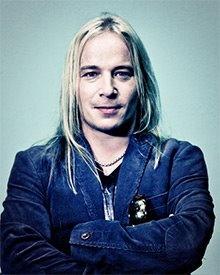 "Erno ""Emppu"" Vuorinen of Nightwish and Brother Firetribe."