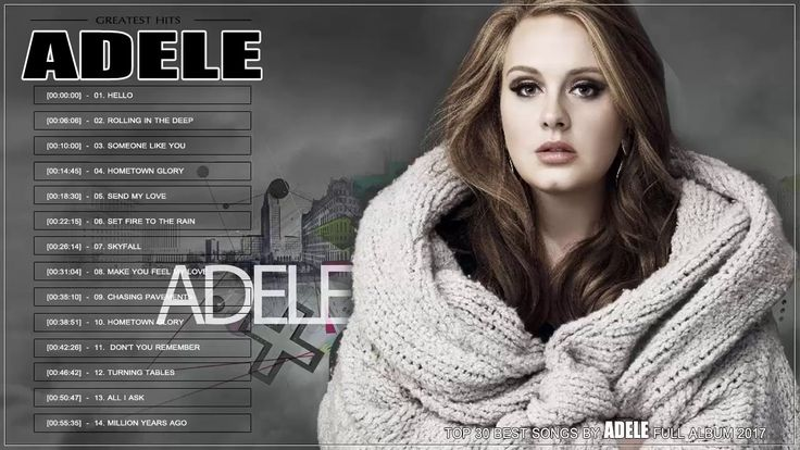 Adele Greatest Hits ∻  Adele Best Of ∻  Adele Top 30 Best Songs Of All Time - YouTube