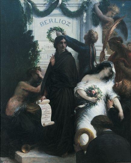 Henri Fantin Latour  (1836-1904) L'anniversaire/ The Birthday (Hector Berlioz)