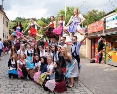 Biggest Festival of the year in Erlangen, Germany: Bergkirchweih